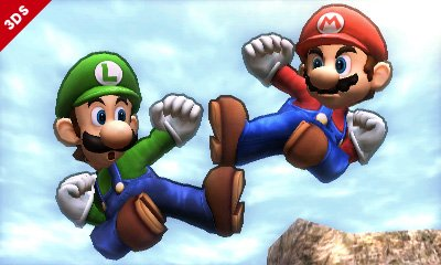 Still the only actual brothers in the game, despite the title. Plenty of smash, though.