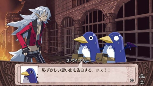 Fenrich in his very tight pants and...Prinnies