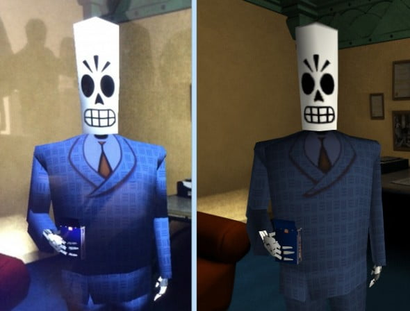 Everything old is new again! Manny's skeleton looks as fresh as a baby.