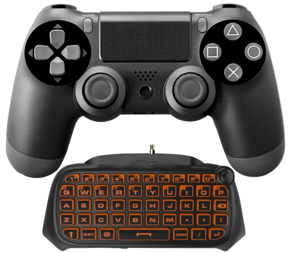 Dualshock 4 Keyboard