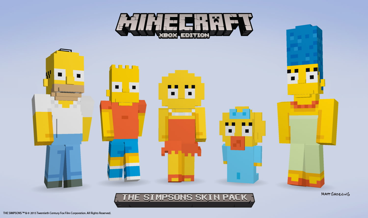 Photo of Doh! Minecraft Announces Plans to Annex Springfield in 2015