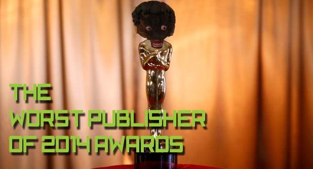 Photo of The Worst Publisher of 2014 Awards