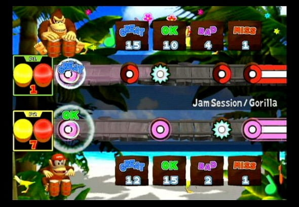 Rhythm games are a whole new jungle for DK!