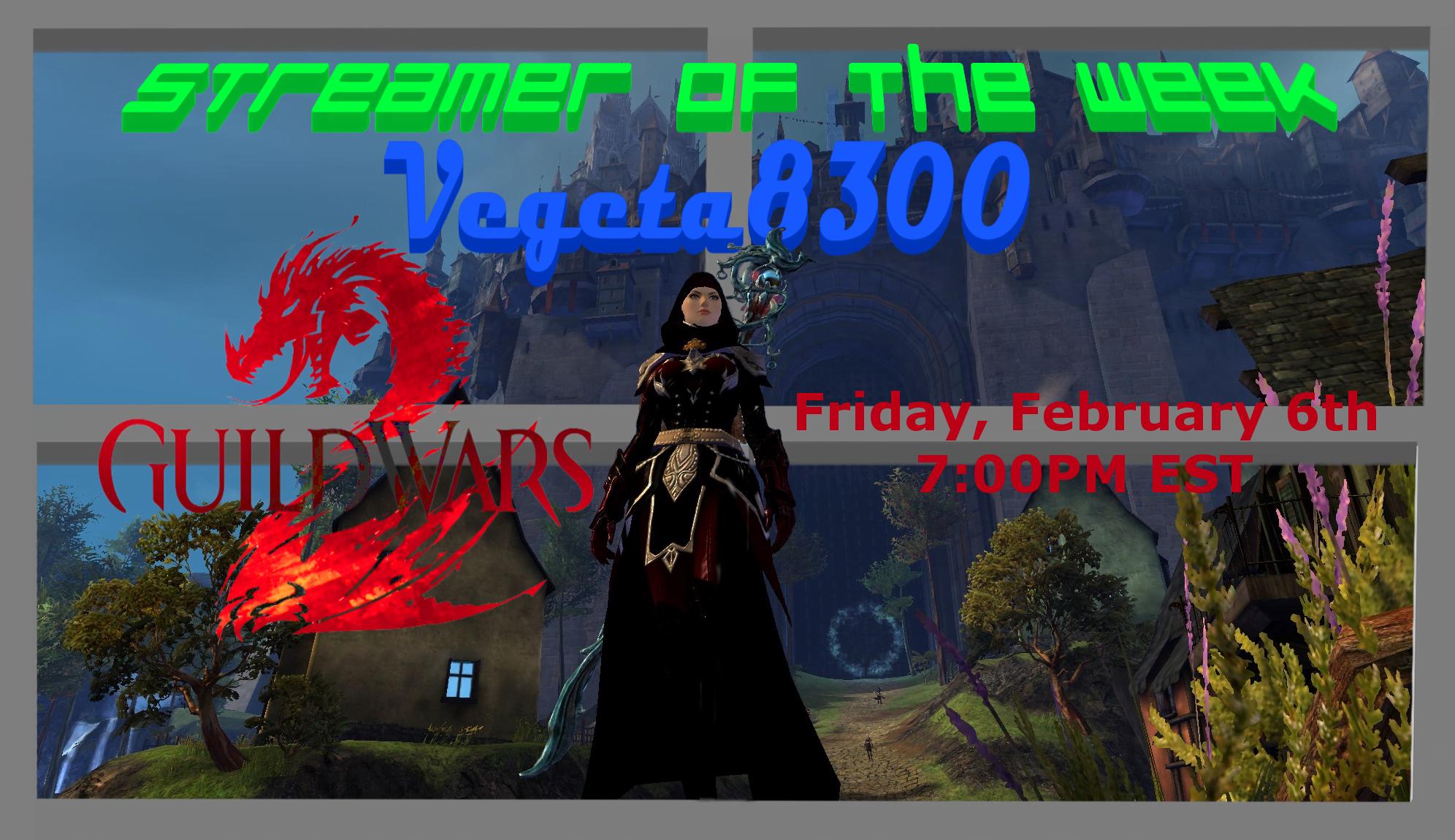 Photo of Streamer of the Week – Vegeta8300 Plays Guild Wars 2