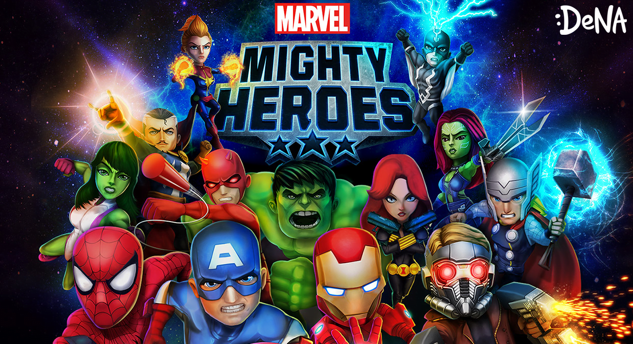 Photo of Marvel Mighty Heroes Announced