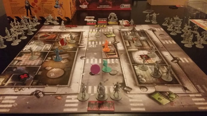 The sheer amount of visual detail on the game board enables players to become immersed in each and every campaign.