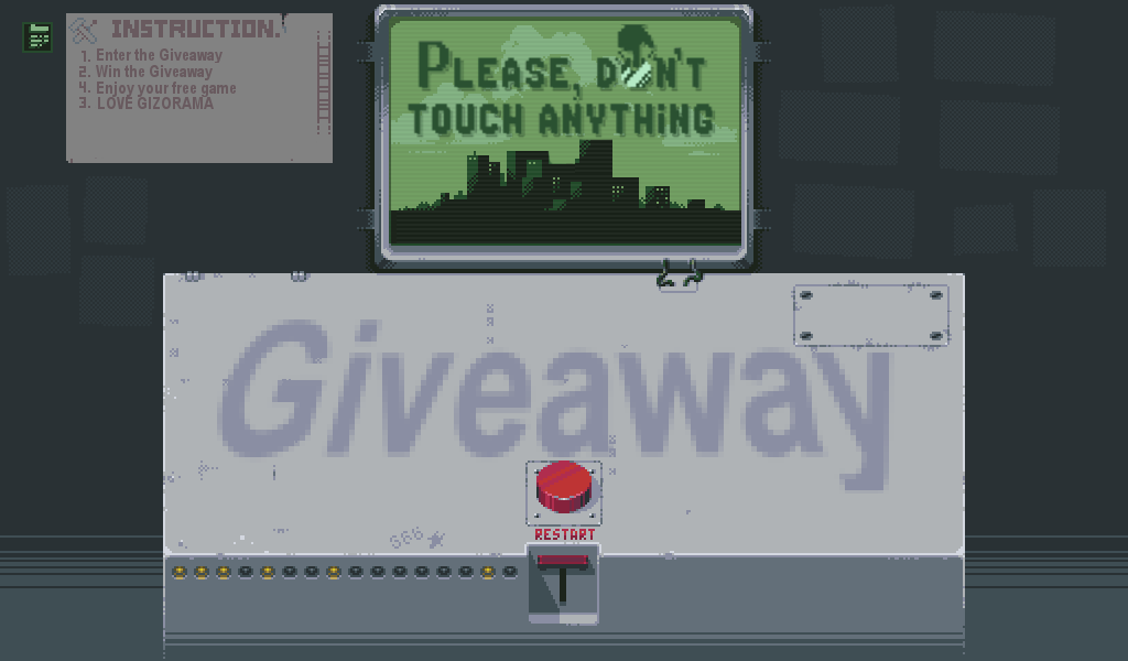 Photo of GIZORAMA Giveaway: Please, Don't Touch Anything