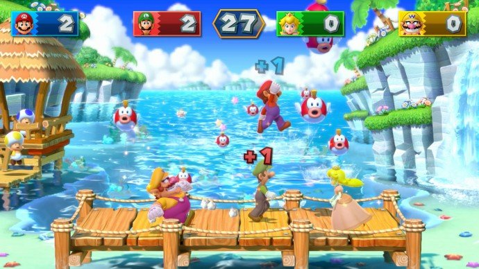 Mini-Game madness plays like a dream on the Wii U
