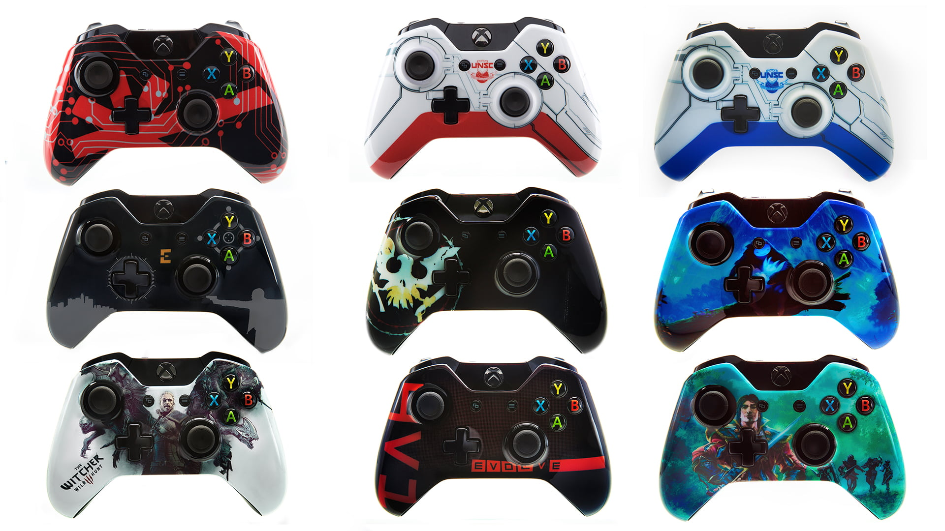Microsoft Reveals Custom Xbox One Controllers At PAX EAST ...