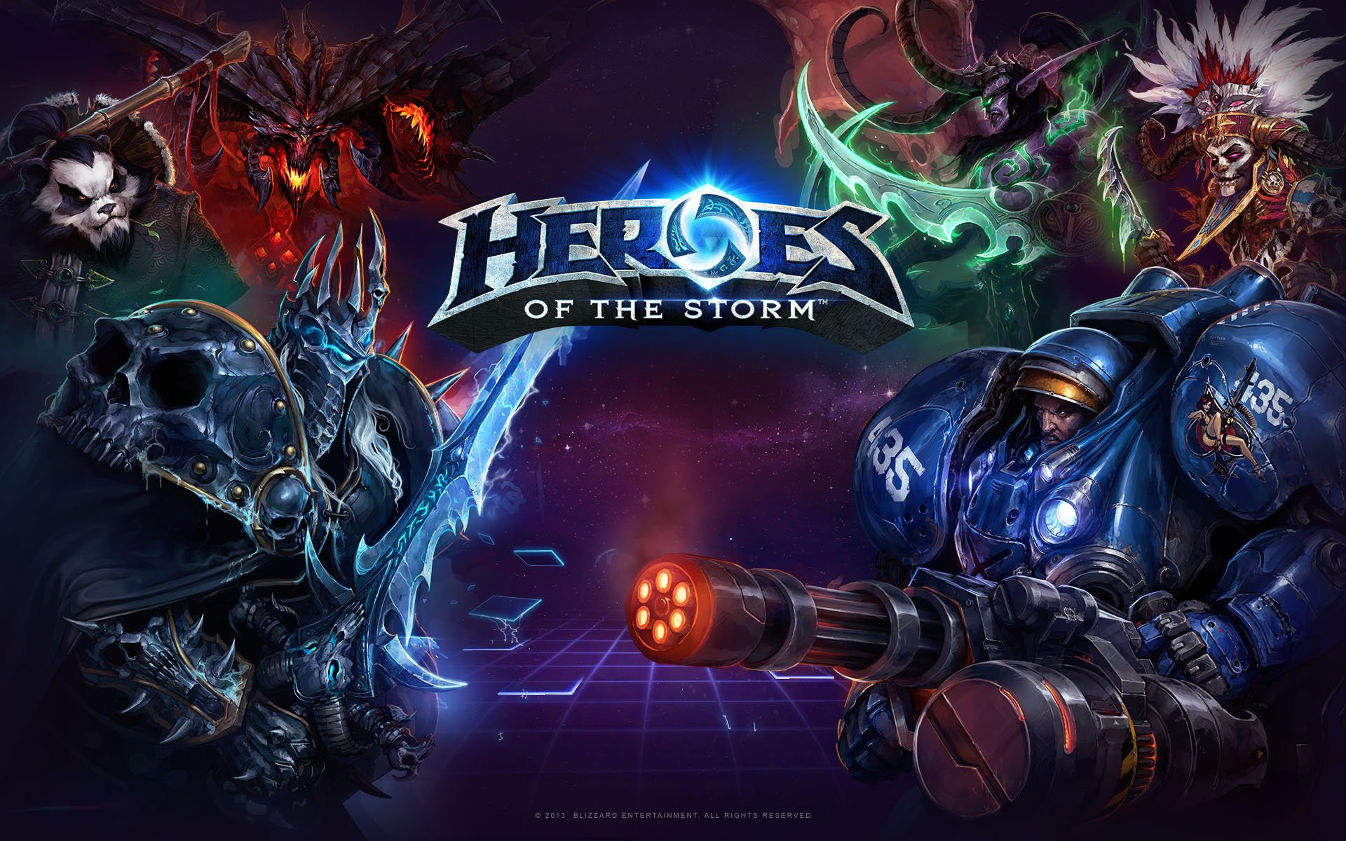 Photo of Heroes of the Storm Officially Launches June 2nd, Open Beta on May 20th
