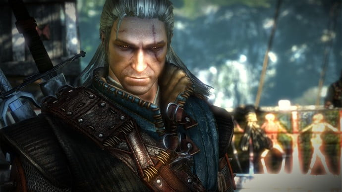 Geralt of Rivia, the hero of the story.
