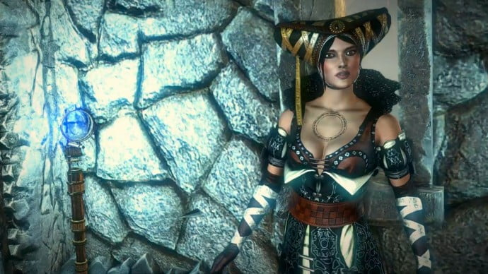 Sile de Tansarville is a powerful sorceress who sometimes assists Geralt, and sometimes does just the opposite.