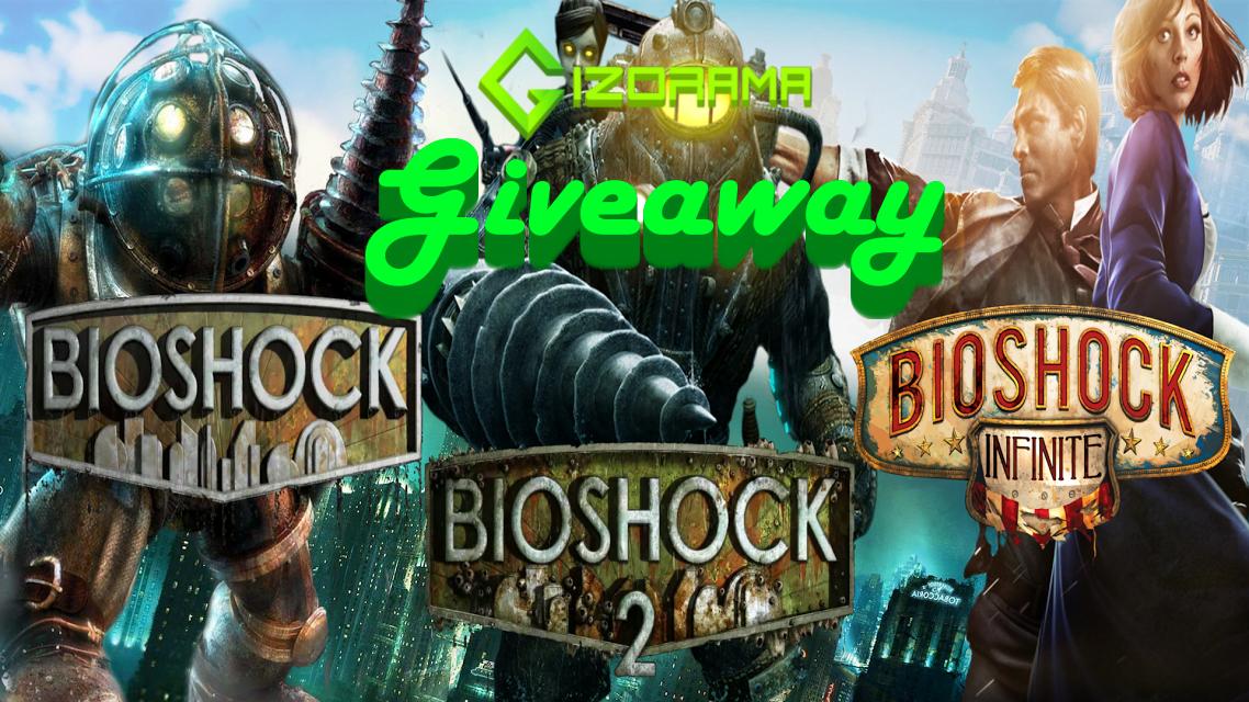 Photo of GIZORAMA GIVEAWAY: BioShock Triple-Pack