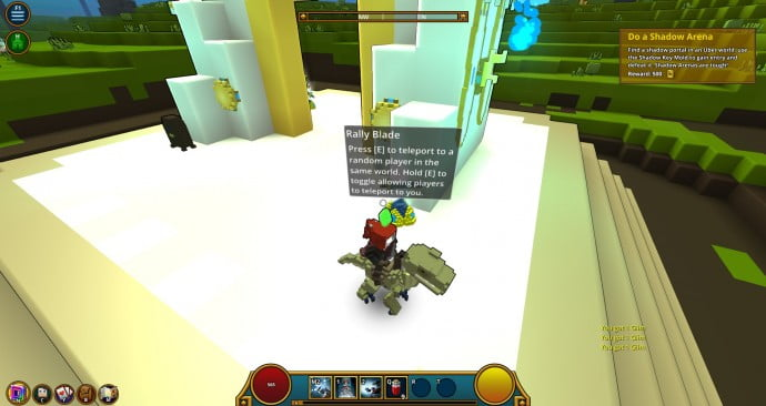 In Trove, there is no Stranger Danger!