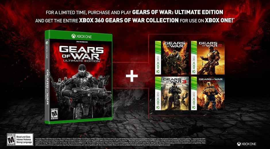 Photo of Gears of War: Ultimate Edition Comes with All 4 Gears of War Games