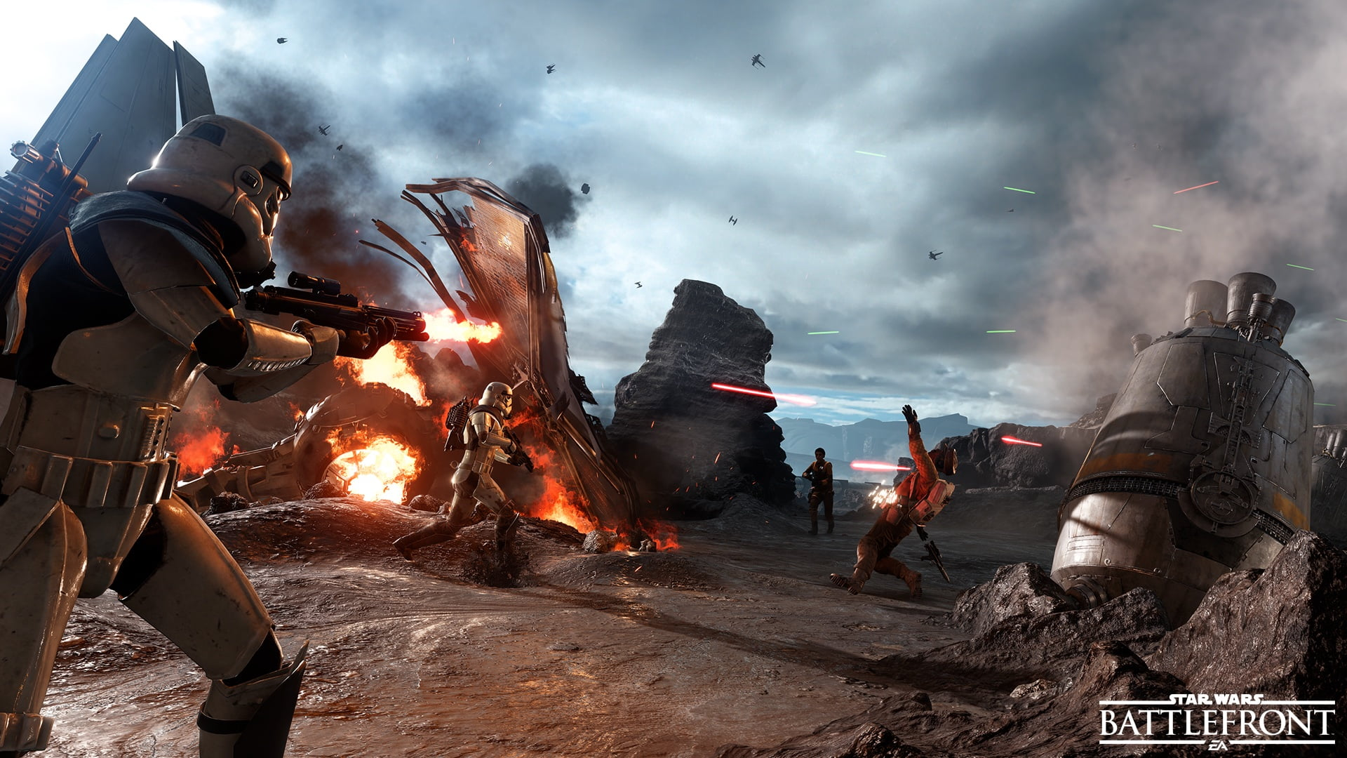 Photo of Star Wars Battlefront Open Beta Coming October 8th