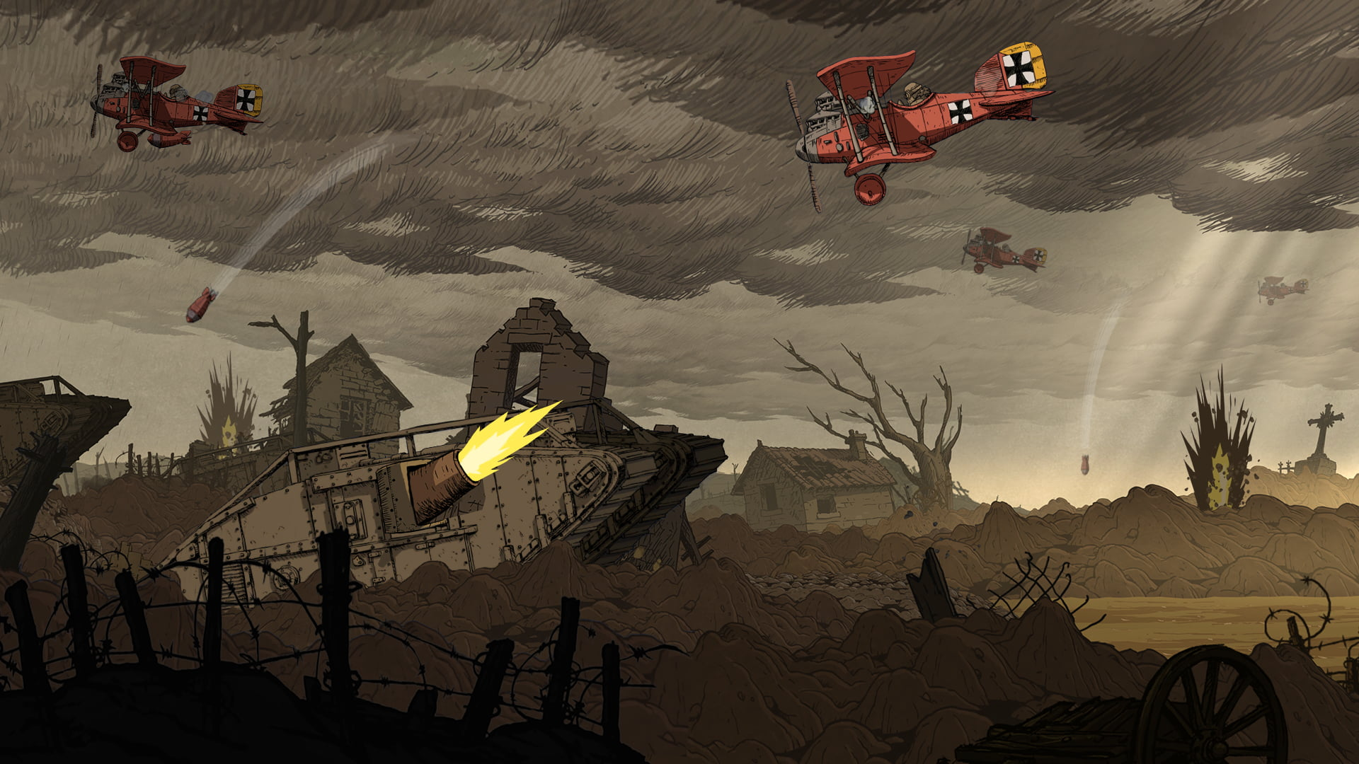 Photo of Mines, Soup Ladles, and War – Valiant Hearts Review