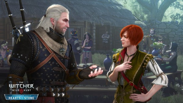 Shani, a character from Geralt's past, plays a major part in the DLC.