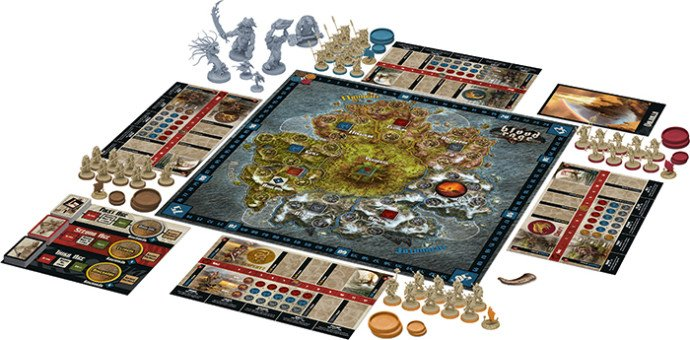 The game board is expansive, and lends itself to many different strategies between the Fjords and Provinces.