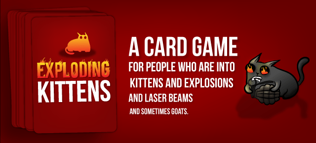 Photo of Exploding Kittens Mobile Available Now!
