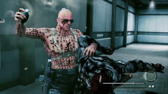 Devil's Third screenshot featuring main character Ivan