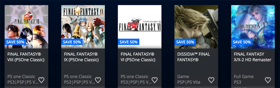 Photo of Square Enix PSN Sale Offers Up To 75 Percent Off Select Titles