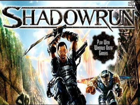 Shadowrun Xbox 360 box art