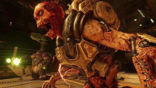 Revenant enemy from Doom multiplayer beta