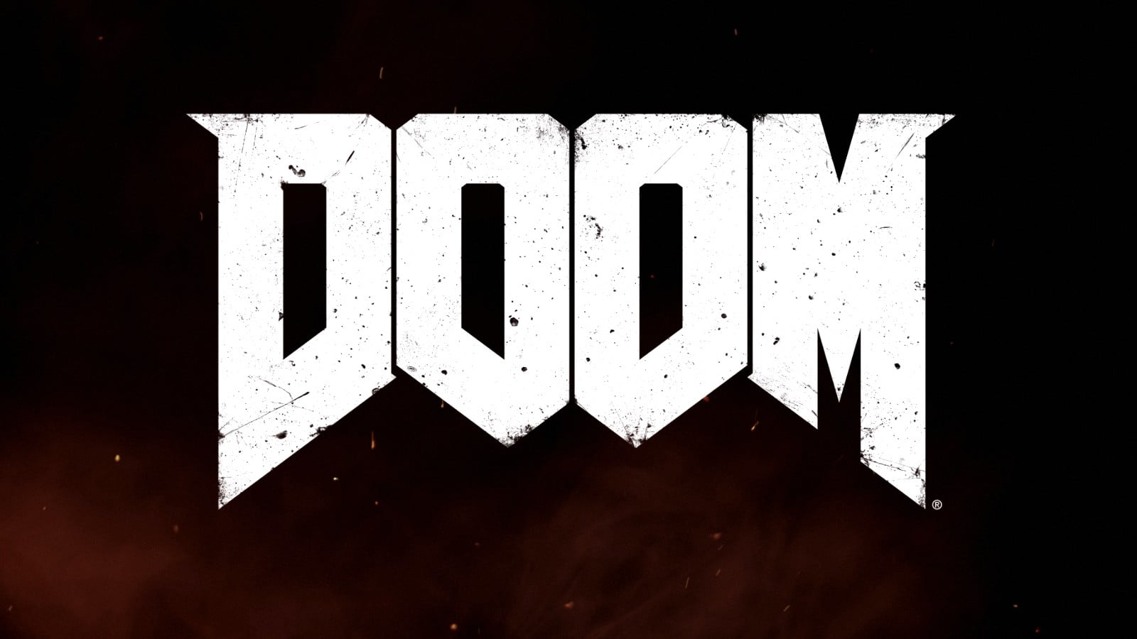 Title screen from DOOM 2016
