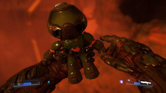 Doom 2016 easter eg screenshot