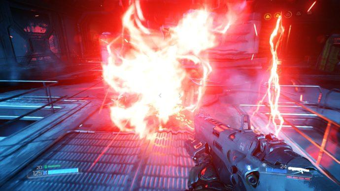 Doom 2016 combat