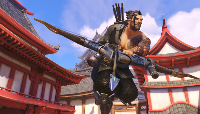 Check out Hanzo's back story in the awesome short: Dragons