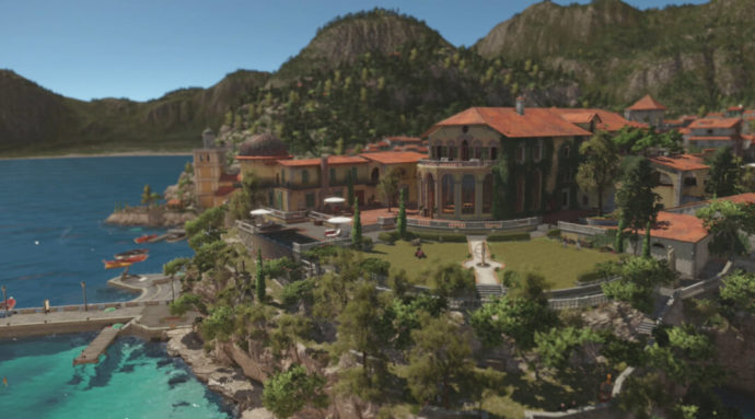 Sapienza offers a lush and beautiful environment, with views that will take your breath away.