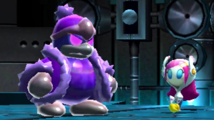 Dedede and Susie from Kirby Planet Robobot
