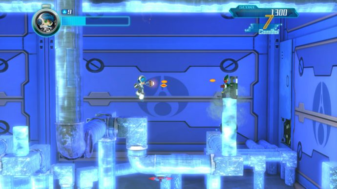 mighty no 9 ice level screenshot
