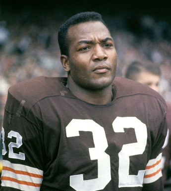 Jim Brown is considered one of the best to play the game, and still remains a standard of football greatness to this day.