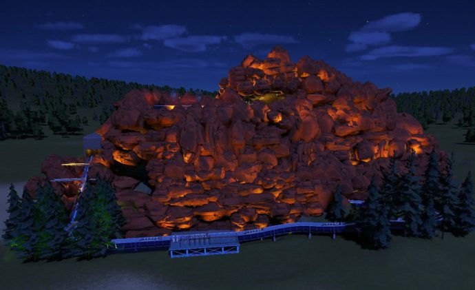 An image of my log ride that is currently on the Steam Workshop.