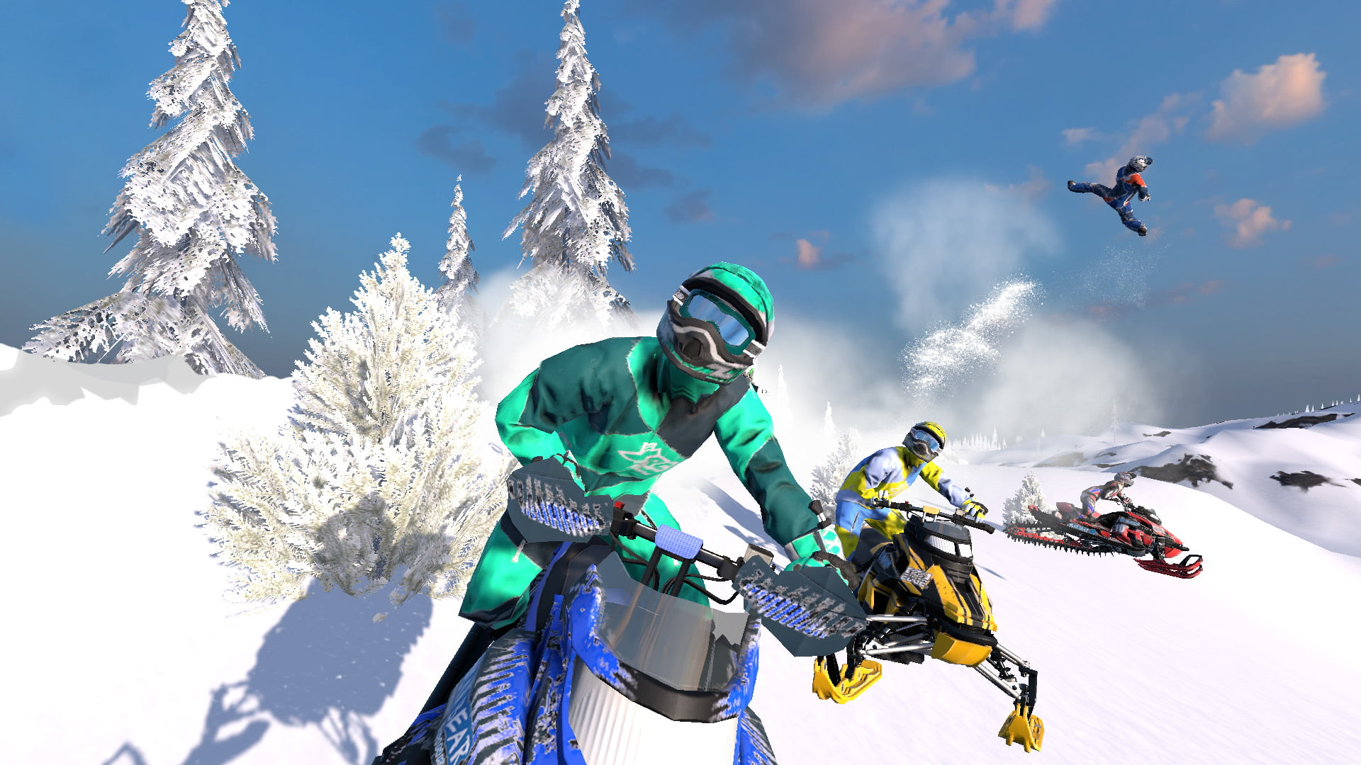 Photo of Dreaming of Arctic Thunder – Snow Moto Racing Freedom Review