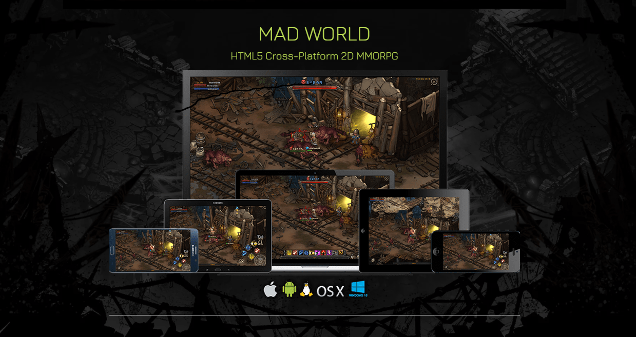 Photo of MAD WORLD, The Ambitious HTML5-Based MMORPG, Gets Official Trailer