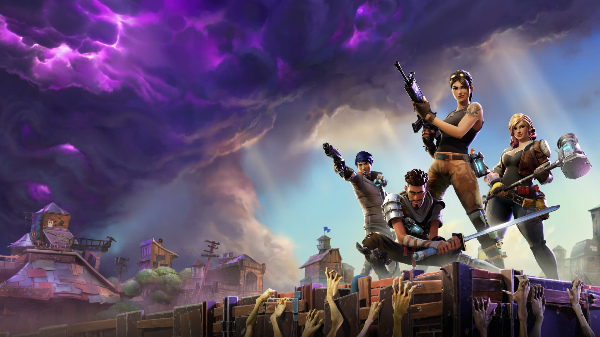 Photo of Surviving the Purple Storm – Fortnite Beginner's Guide