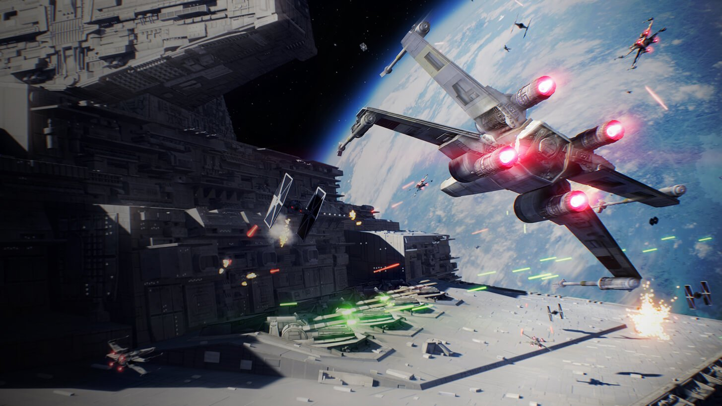 Photo of Star Wars Battlefront II: Starfighter Assault Gameplay Trailer