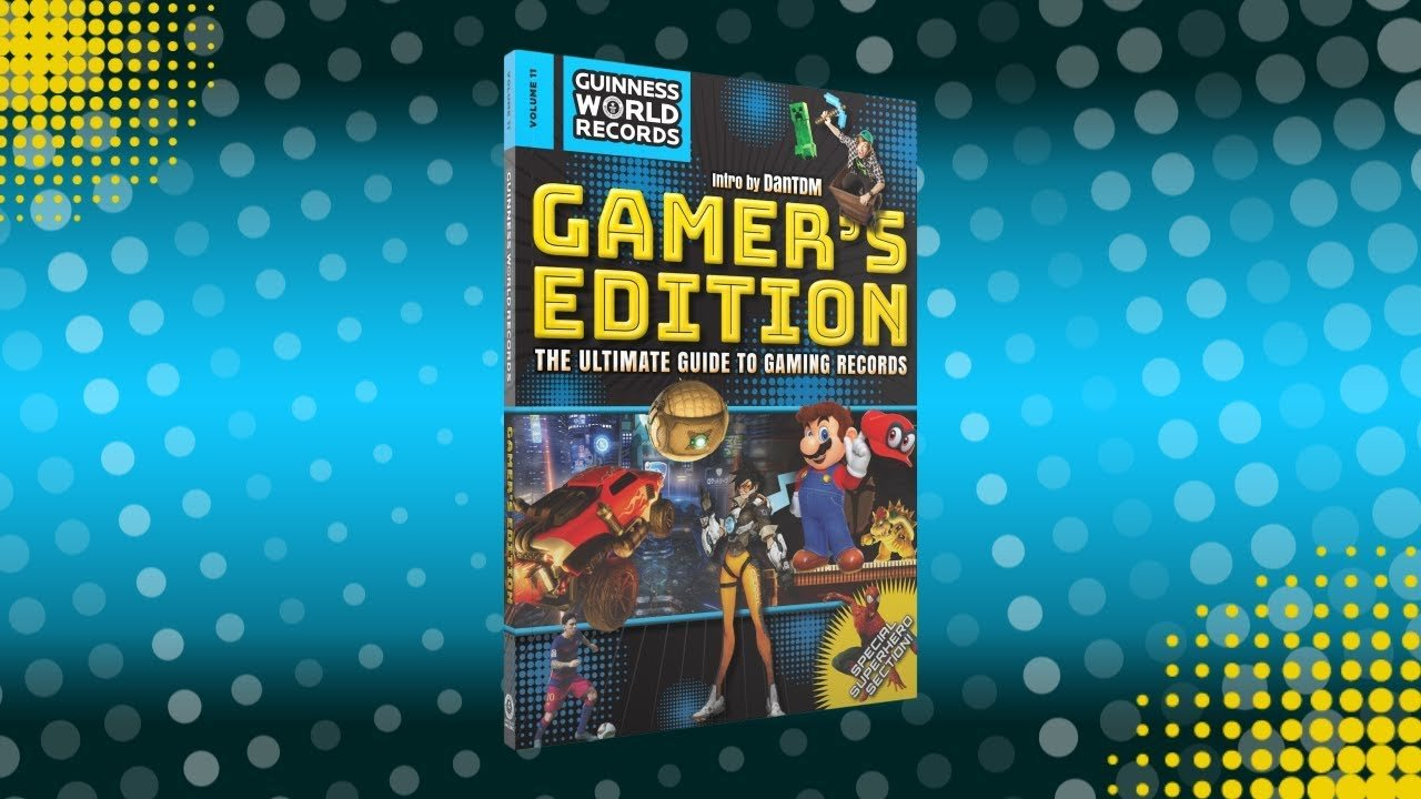 Photo of Guinness World Records 2018 Gamer's Edition Giveaway