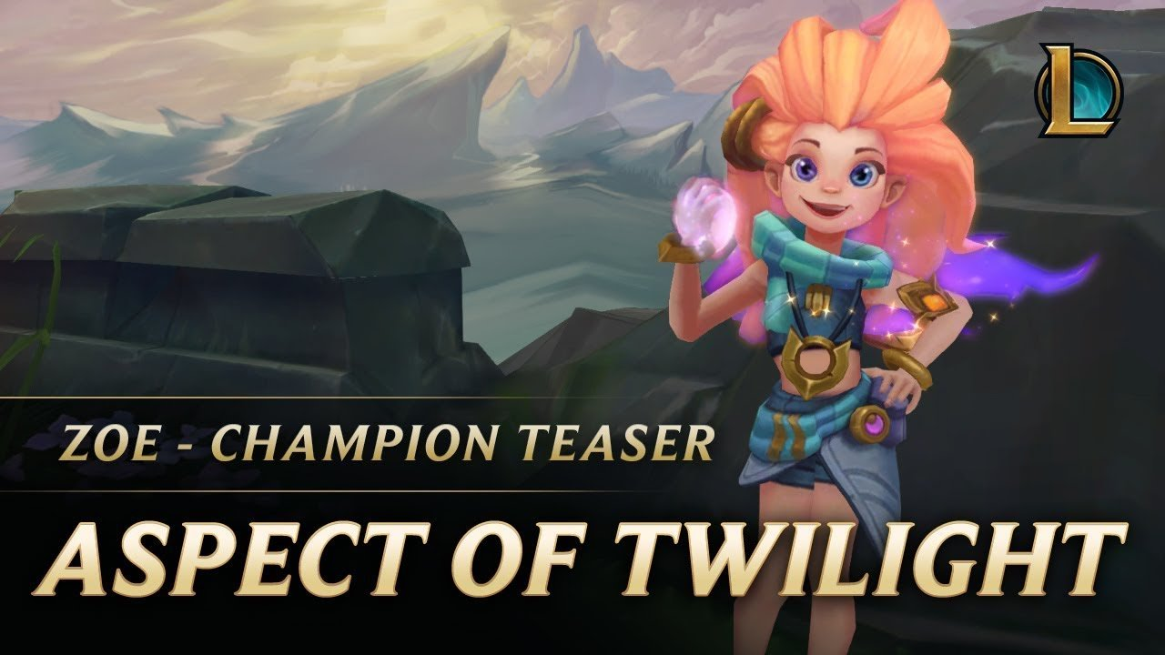 Photo of First Look at Zoe: The Aspect of Twilight, League's Newest Champion