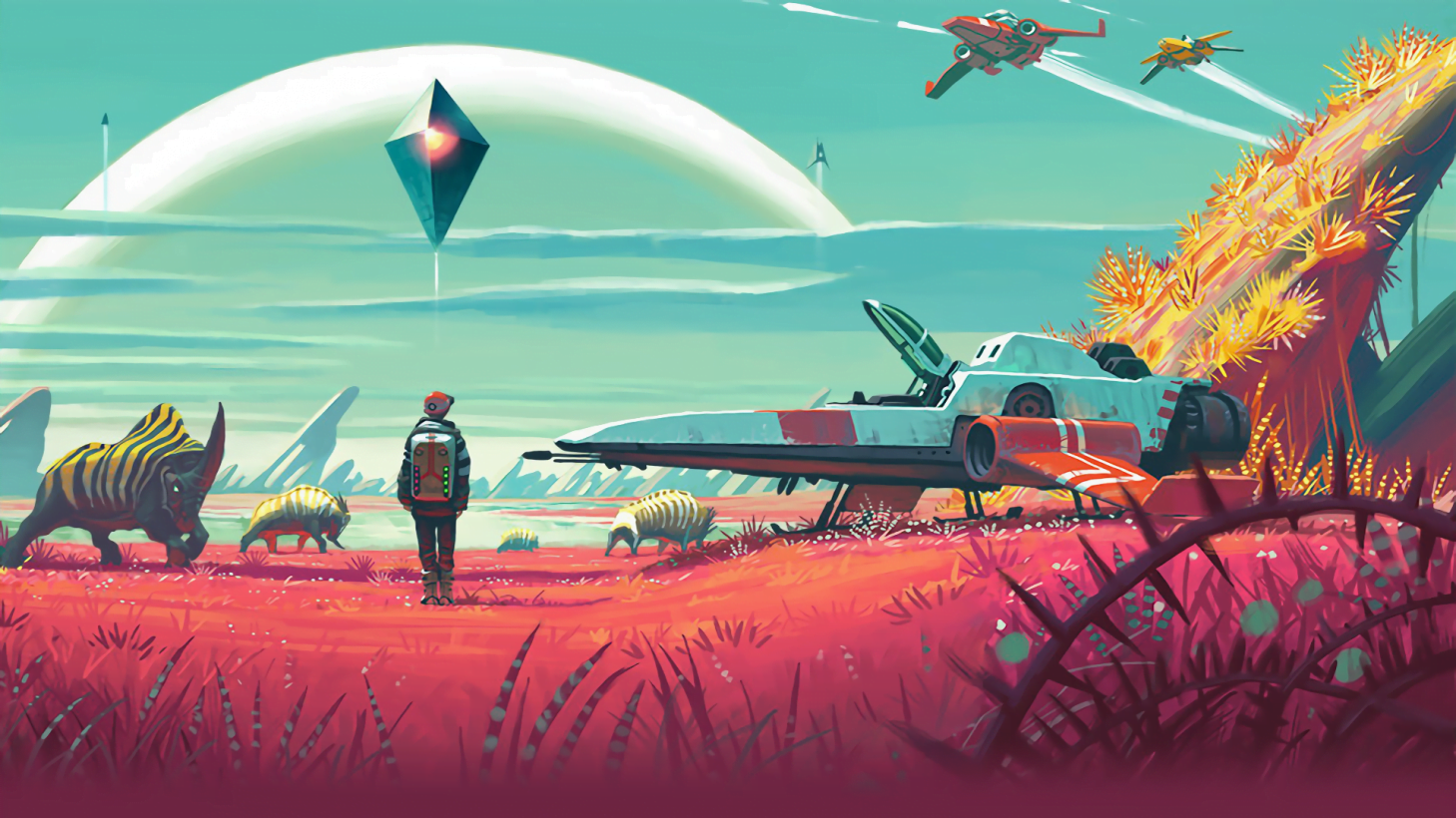 Photo of No Man's Sky Coming to Xbox One