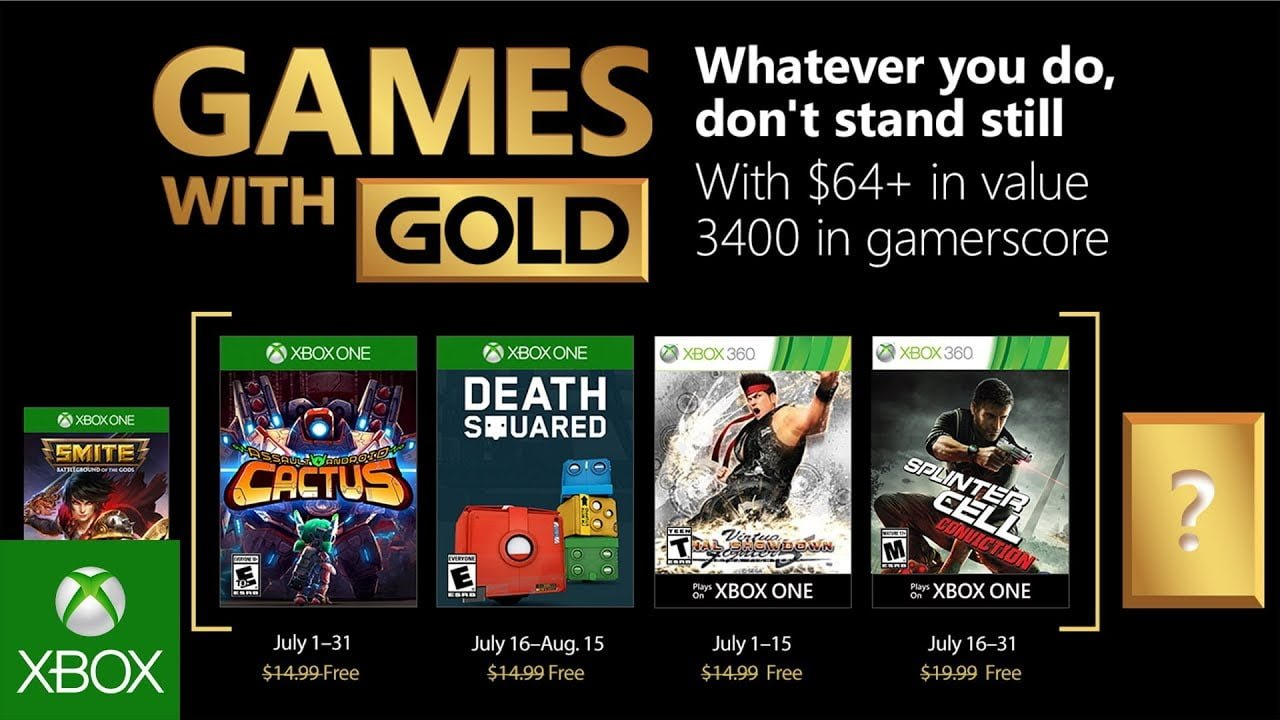 Photo of Xbox's Games with Gold Titles Announced for July 2018