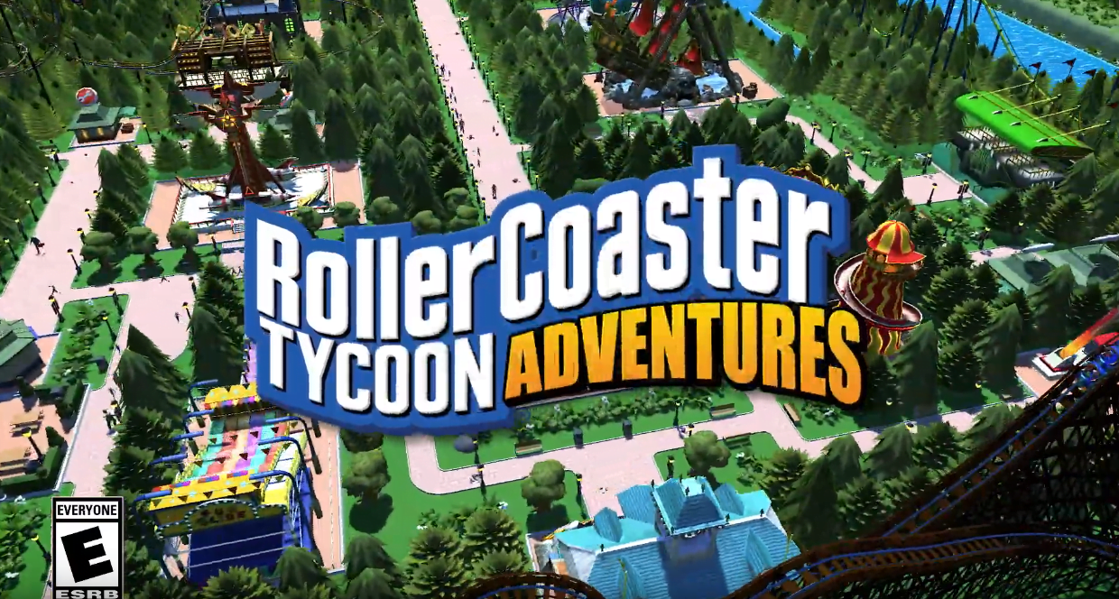 Atari Rollercoaster Tycoon Adventures – 360Cinemaproductions