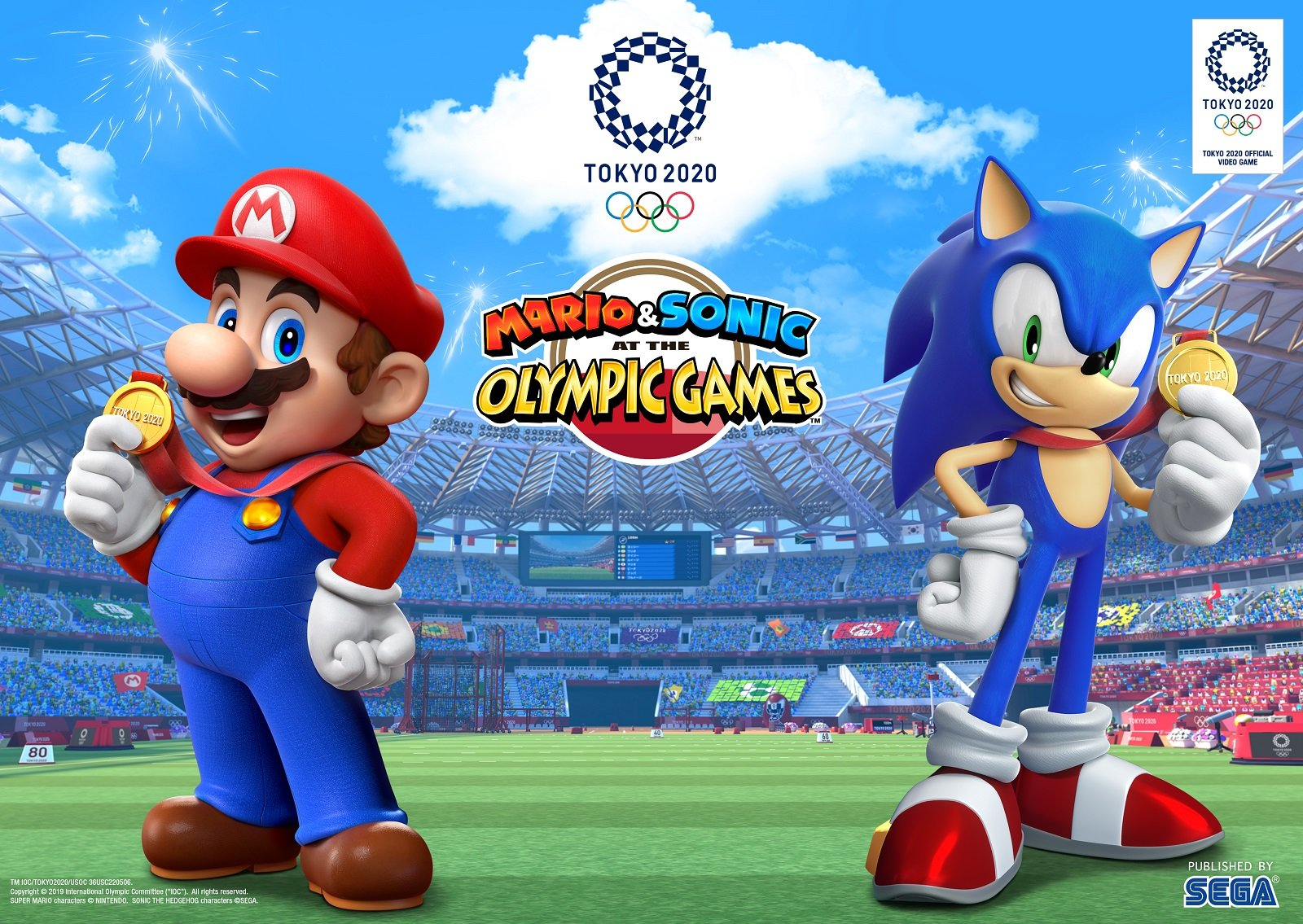 Photo of Mario Surfs and Sonic Skates in Mario & Sonic at the Olympic Games Tokyo 2020