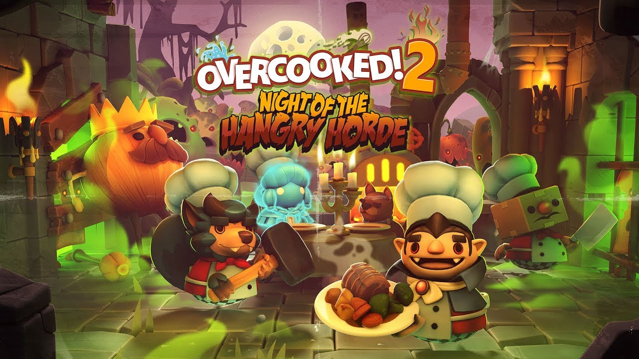 Photo of Overcooked 2 – Night Of The Hangry Horde Out Now + Launch Trailer
